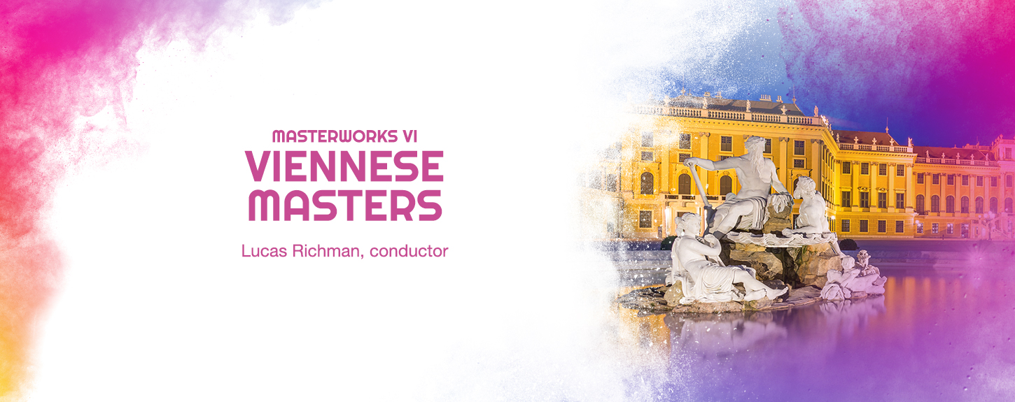 masterworks vi viennese masters lucas richman, conductor graphic