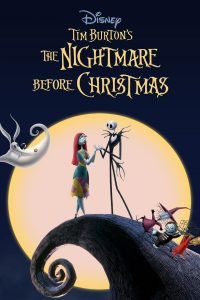disney tim burton's the nightmare before christmas poster