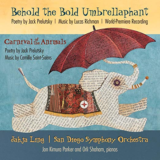 behold the bold umbrellaphant cd cover graphic