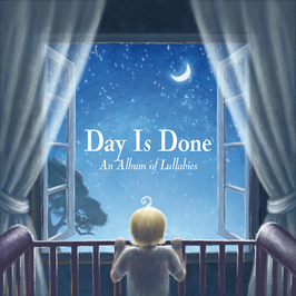 day is done an album of lullabies graphic album cover