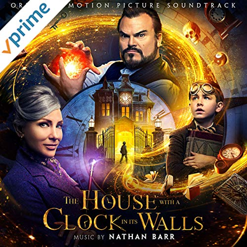 the house with a clock in its walls motion picture soundtrack graphic