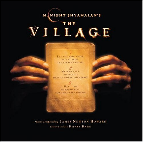 m night shyamalan's the village motion picture soundtrack graphic