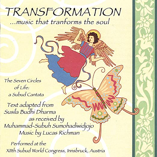 transformation ... music that transforms the soul cd cover graphic