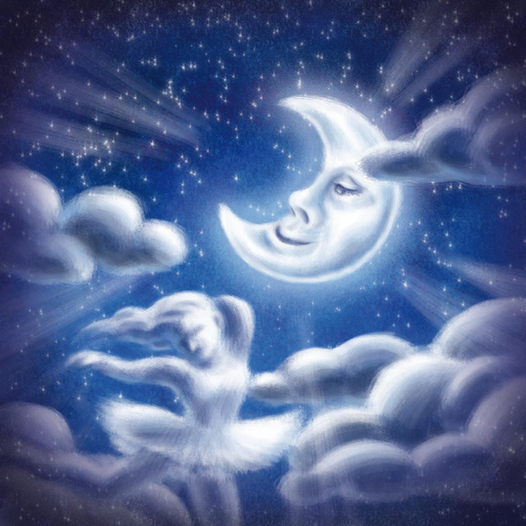 i remember a lullaby moon graphic cover